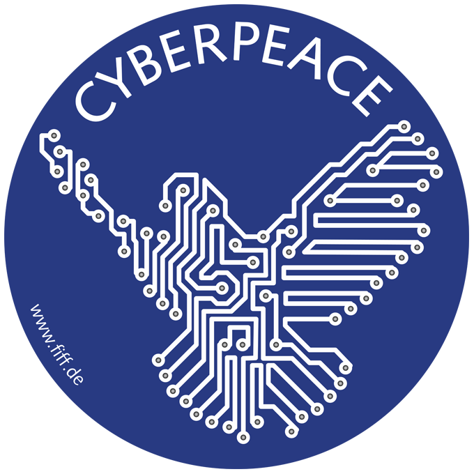 Cyberpeace-Sticker